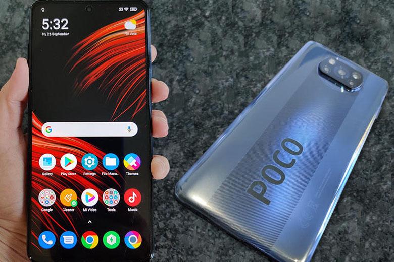 Màn hình Xiaomi Poco X3 cho chất lượng hiển thị rõ nét