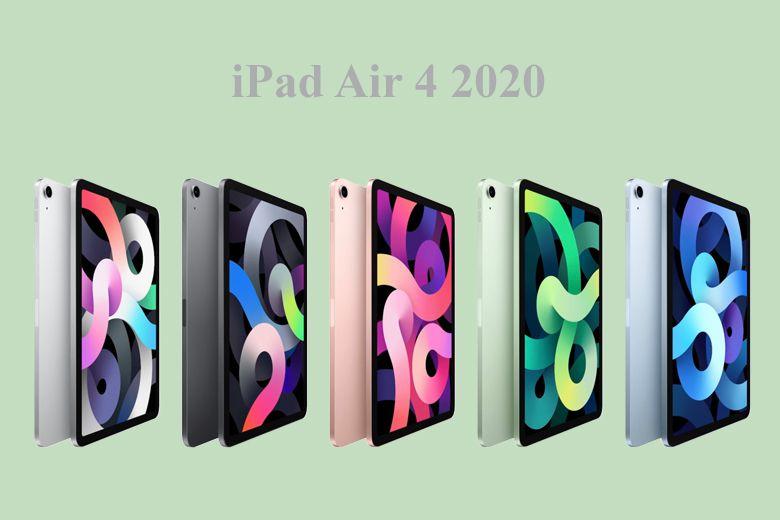iPad Air 4 có một camera chính 12MP