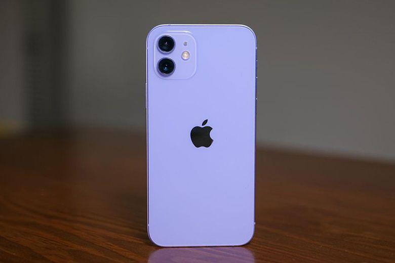 Trên tay và đánh giá nhanh iPhone 12 phiên bản màu tím mau sac thuc te iphone 12 viendidong