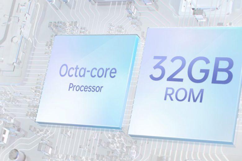 Chip xử lý (CPU) MediaTek Helio P35 8 nhân cùng vớiRAM 3 GBcho phép đa nhiệm tốt
