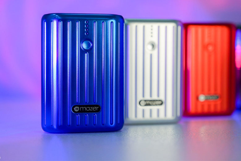 Pin sạc dự phòng Mazer 10.000mAh Super Mini V1 sở hữu thiết kế nhỏ gọn