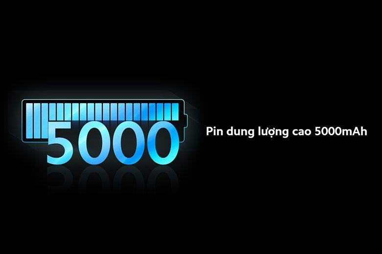 Điện thoại thông minh của Xiaomi được trang bị viên pin 5000mAh.