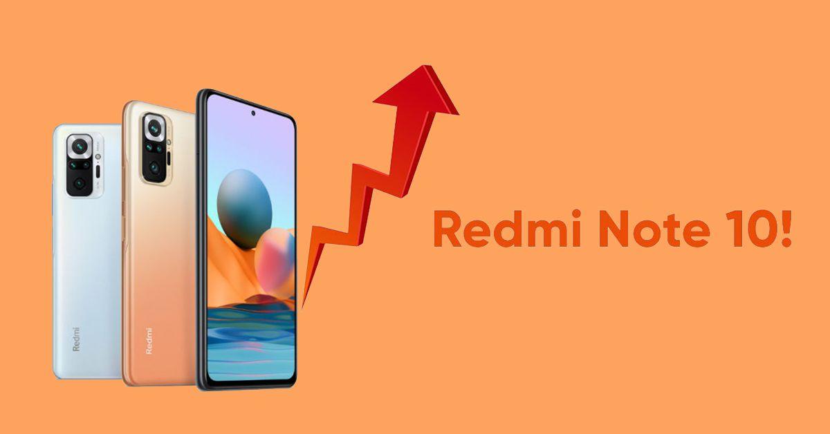 Giá Redmi Note 10 tại Ấn Độ tăng mạnh sau 2 tháng ra mắt