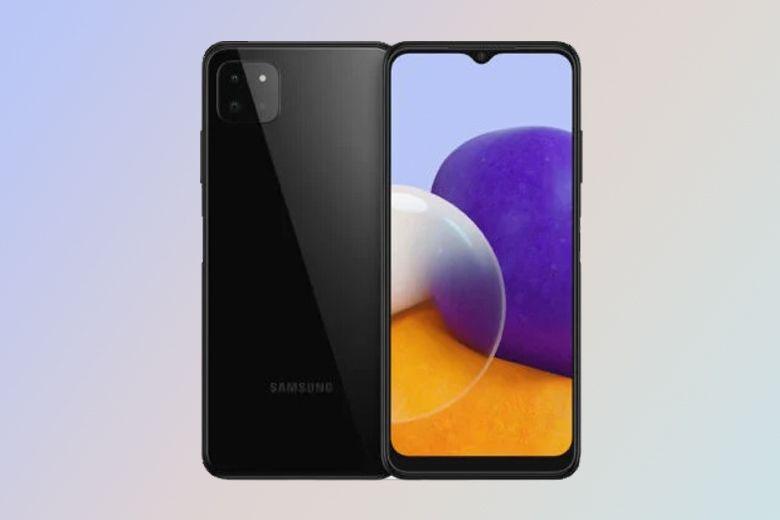 Samsung Galaxy A22 5G xuất hiện với cụm 3 camera và màn hình 6.6 inch