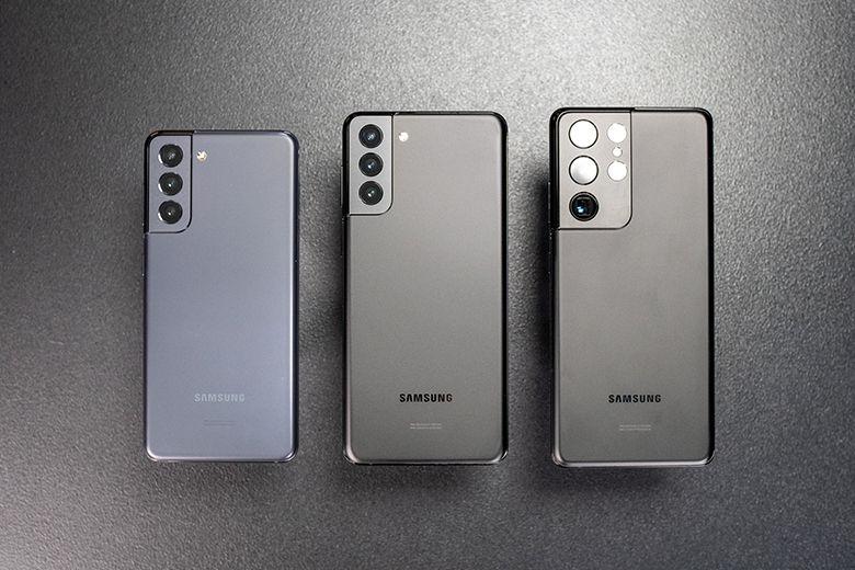Thiết kế của Samsung Galaxy S21 5G, S21 Plus 5G và S21 Ultra 5G