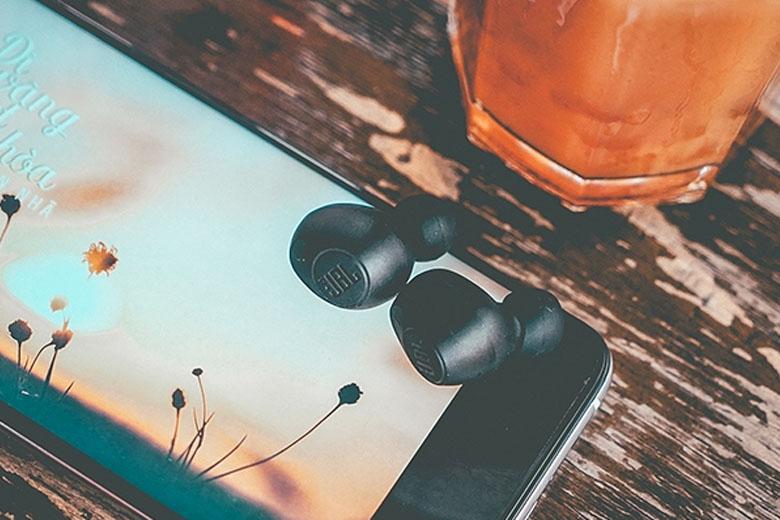 Tai nghe Bluetooth JBL T115TW cho âm lượng cực chất