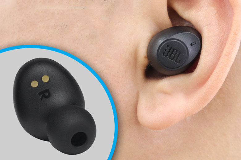 Tai nghe Bluetooth JBL T115TW có pin lâu