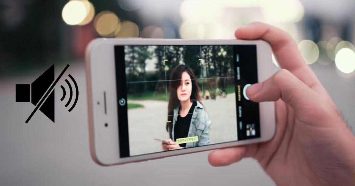 5 cách tắt âm khi chụp ảnh đơn giản trên iPhone