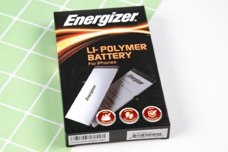 Pin Energizer iPhone 7 sử dụng cell pin của ATL – nhà cung cấp cell pin chính hãng của Apple. Điều này không chỉ đáp ứng dung lượng như pin chính hãng, mà pin còn được chế tạo từ chất liệu Polymer cao cấp giúp iPhone 7 sạc nhanh chóng