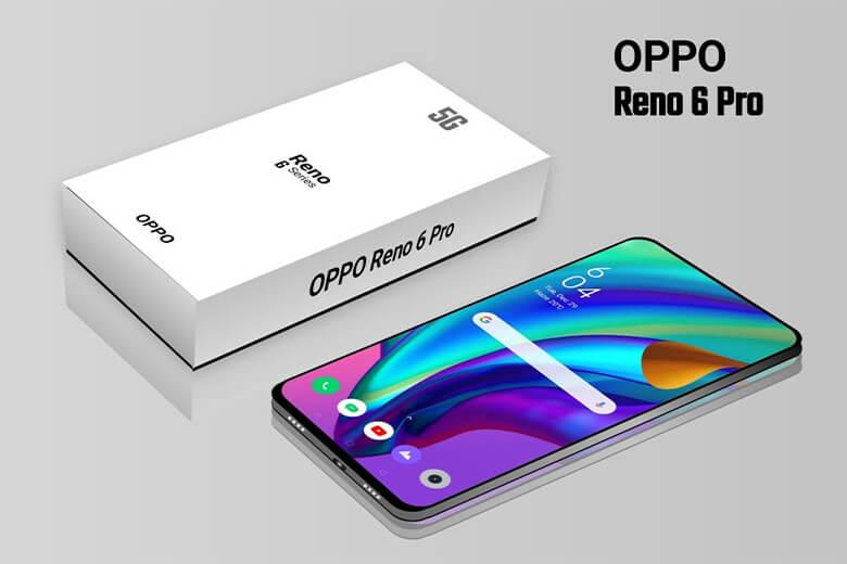 Oppo Reno6 Pro sẽ có màn hình AMOLED 6,55 inch, mặt lưng nhám với các cạnh viền được làm bằng kim loại được bo cong mềm mại, giúp người dùng dễ dàng cầm nắm mà vẫn mang lại cảm giác sang trọng, cứng cáp.