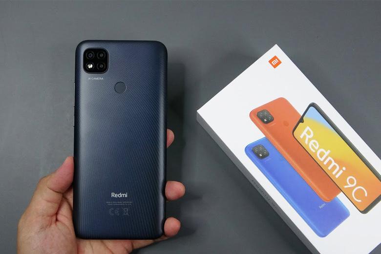 Thiết kế Xiaomi Redmi 9C sang trọng, đẳng cấp