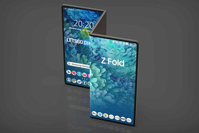 Mẫu Galaxy Z Fold Tab có thể trở thành đại diện đầu tiên của dòng sản phẩm máy tính bảng uốn cong này