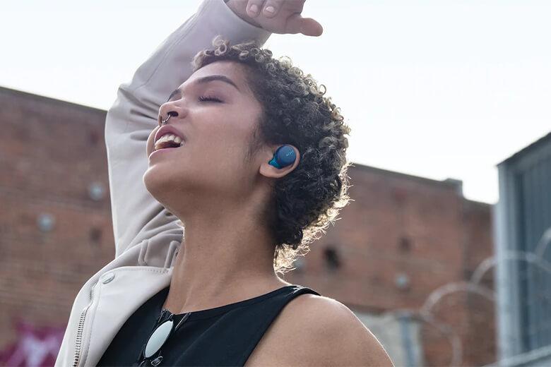 Tính năng tai nghe bluetooth Sony WF-XB700