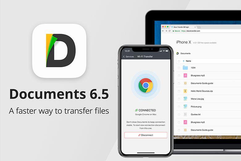 Ứng dụng Documents trên AppStore