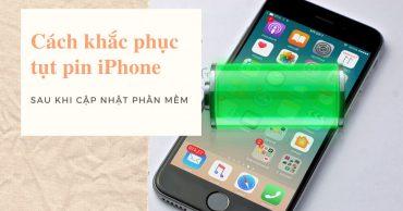 Cách khắc phục các vấn đề về tuổi thọ pin iPhone