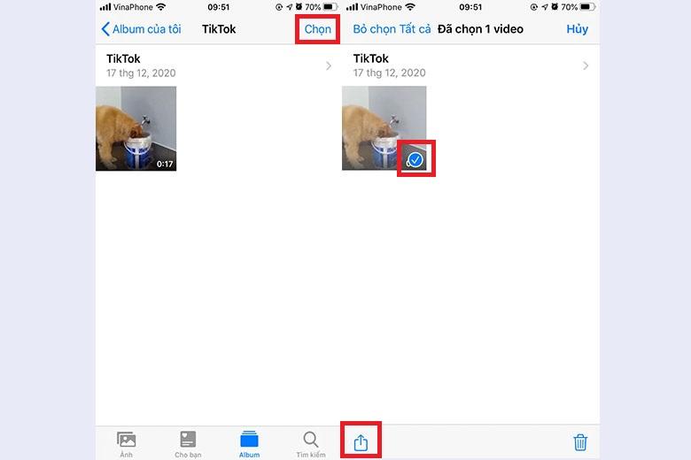 Cách ẩn ảnh trên iPhone trong ứng dụng Ảnh