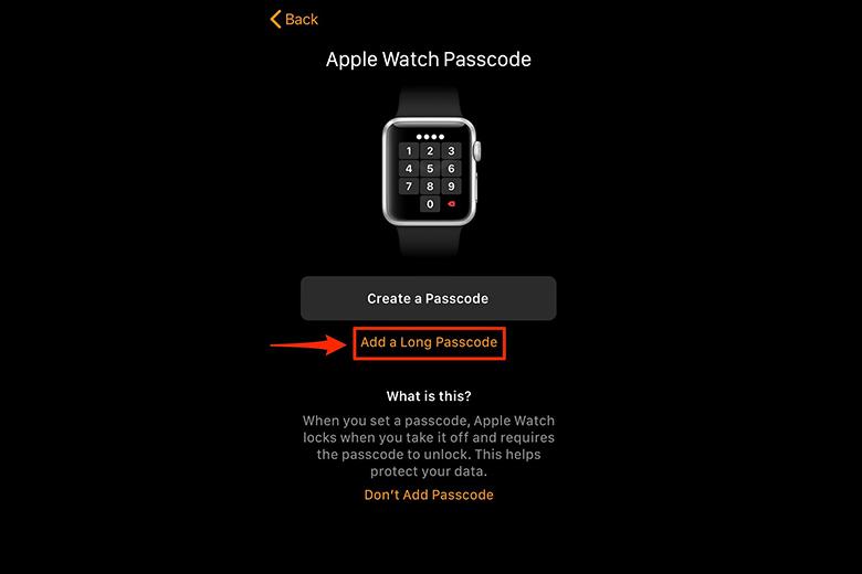 Apple Watch sẽ yêu cầu bạn tạo mật mã để thực hiện tính năng Apple Pay