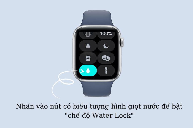 Cách bật chế độ Water Lock