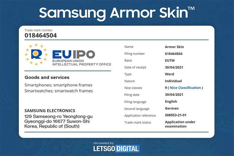 Tổng hợp tin tức về Samsung Galaxy Z Fold 3 chung nhan armor skin cua galaxy z fold 3 viendidong
