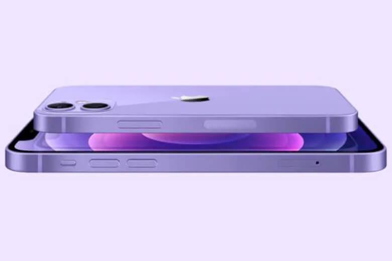 """iPhone 12 mini được trang bị một camera góc rộng """"tiêu chuẩn"""" 12MP với khẩu độ f/1.6 và một camera siêu rộng 12MP với trường nhìn 120 độ và khẩu độ f/2.4."""