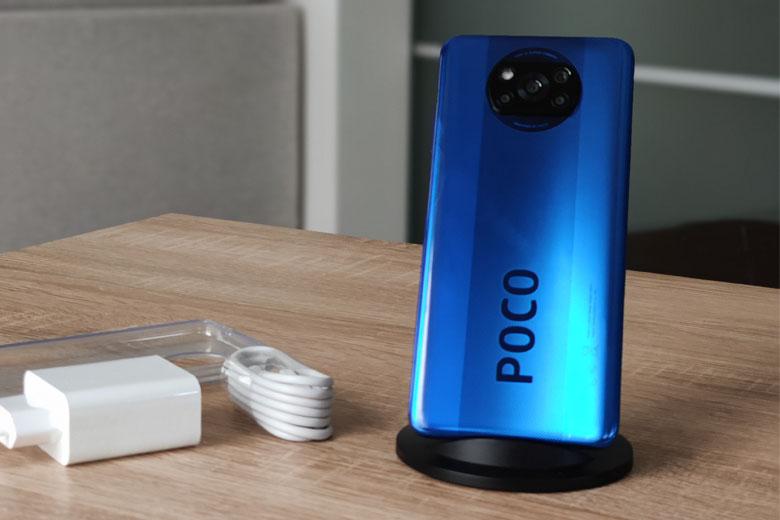Xiaomi Poco có thiết kế đẹp, trẻ trung, hiện đại với nhiều màu sắc