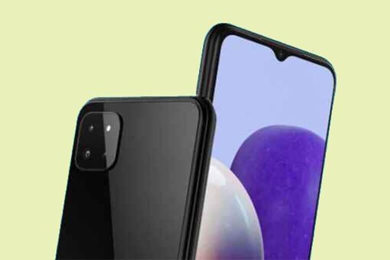 Galaxy M22 được Samsung trang bị mặt sau cụm camera nằm gọn trong thiết kế chữ U cắt chứa camera có độ phân giải lên đến 48MP.