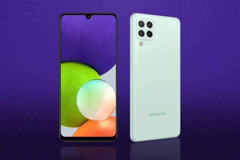 Galaxy M22cho màu sắc sống động với tấm nền Super AMOLED 16 triệu màu cùng mật độ điểm ảnh 403 ppi và cònđược trang bị mặt kính Gorilla Glass 3 giúp hạn chế tối ưu hư hại khi va đập mạnh.