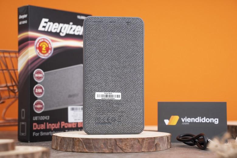 Pin sạc dự phòng Energizer an toàn, đạt các chứng nhận của Mỹ trước khi xuất xưởng