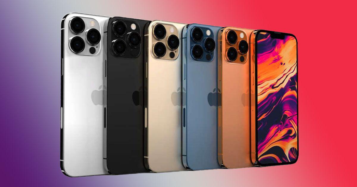 Apple iPhone 13 xuất hiện thêm hình ảnh  trên các trang trực tuyến