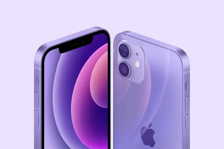 iPhone 12 mini 256GB màu tím (Purple) được thiết kế màn hình phản ánh thiết kế của iPhone 12 về cơ bản, nhưng trong một thân máy nhỏ hơn, dễ dàng nằm trọn trong tay bạn và mặc dù kích thước nhỏ hơn nhưng iPhone 12 mini 258GB có màn hình Super Retina XDR OLED 5,4 inch sắc nét
