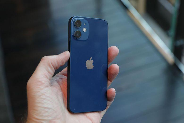 iPhone 12 mini màu xanh lam