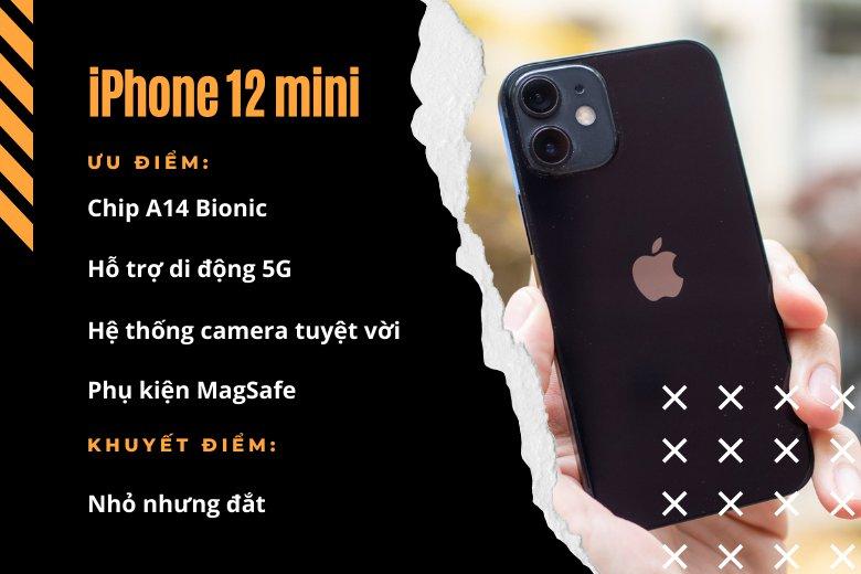 Tổng thể tuyệt với nhất: iPhone 12 mini