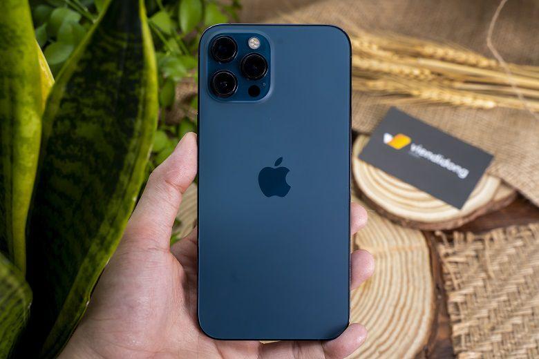 Điện thoại iPhone 12 Pro Max thiết kế trang trọng