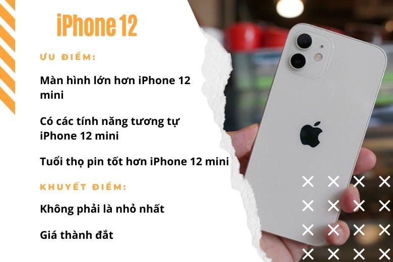 Nhỏ gọn, mạnh mẽ, hợp túi tiền nhất: iPhone 12