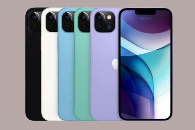 iPhone 13 và 13 mini có bao nhiêu phiên bản màu?
