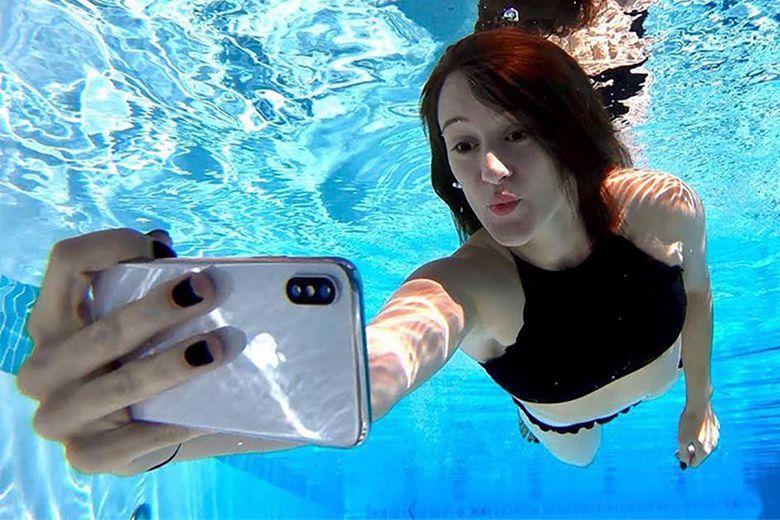 iPhone không thể sử dụng được khi đi bơi hoặc đi lặn