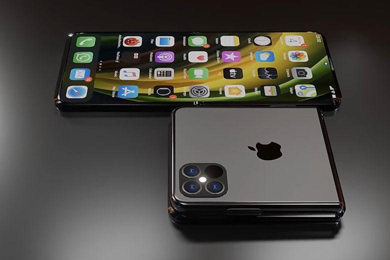 Apple sẽ phát hành iPhone Flip?