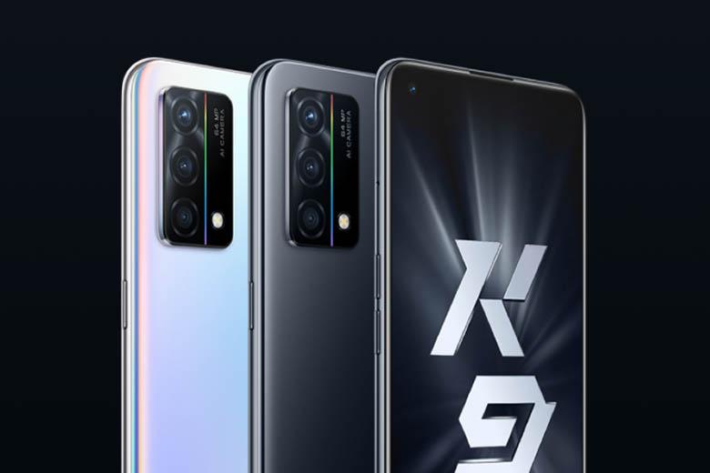 Oppo K9 5G có màn hình AMOLED 6.43-inch với thiết kế lỗ đục chứa camera selfie