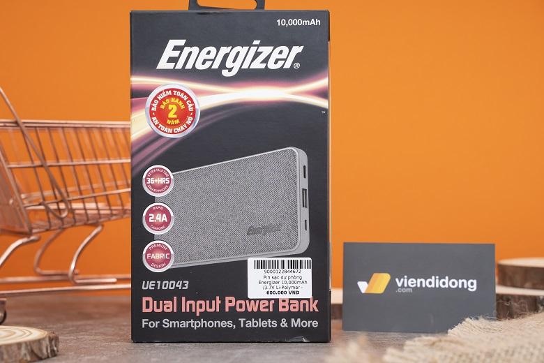 Pin dự phòng Energizer là thương hiệu pin được nhiều người dùng Việt tin dùng