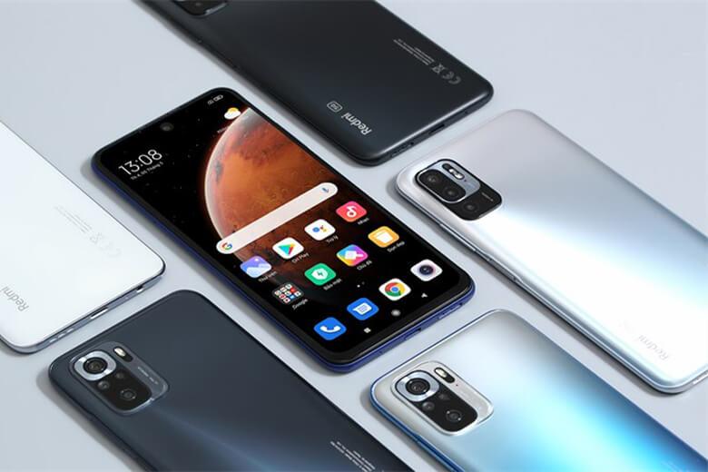 Redmi Note 10 5G là chiếc duy nhất trong gia đình Note 10 sử dụng màn hình IPS LCD thay vì AMOLED với độ làm mới hình ảnh hiển thị ở mức 90Hz