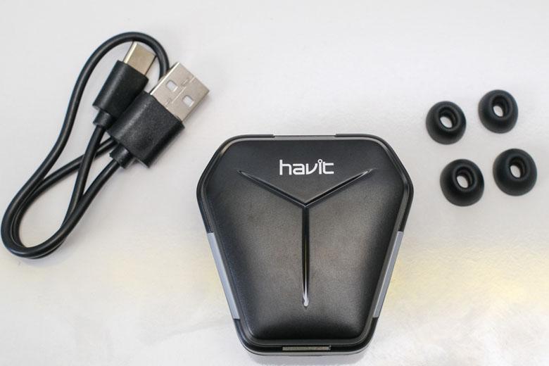 Tai nghe không dây Gaming Havit TW938 vừa vặn tai nghe, dùng thoải mái