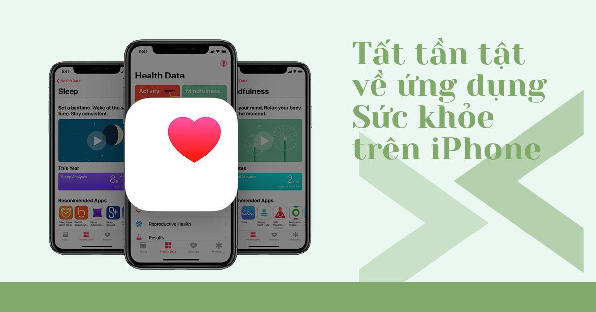 Ứng dụng Sức khỏe trên iPhone: Đây là tất cả những thông tin bạn nên biết