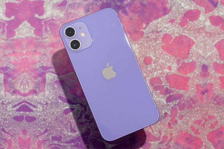 Dòng điện thoại iPhone 12 mini 256GB màu tím (Purple) chính hãng này tuy có dung lượng pin kém hơn đôi chút so với dòng điện thoại tiền nhiệm iPhone 11