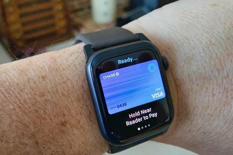 Thanh toán trên Apple Watch bằng Apple Pay