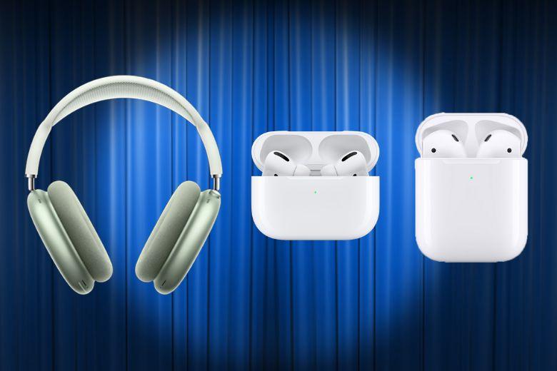 Các loại tai nghe Airpods của Apple