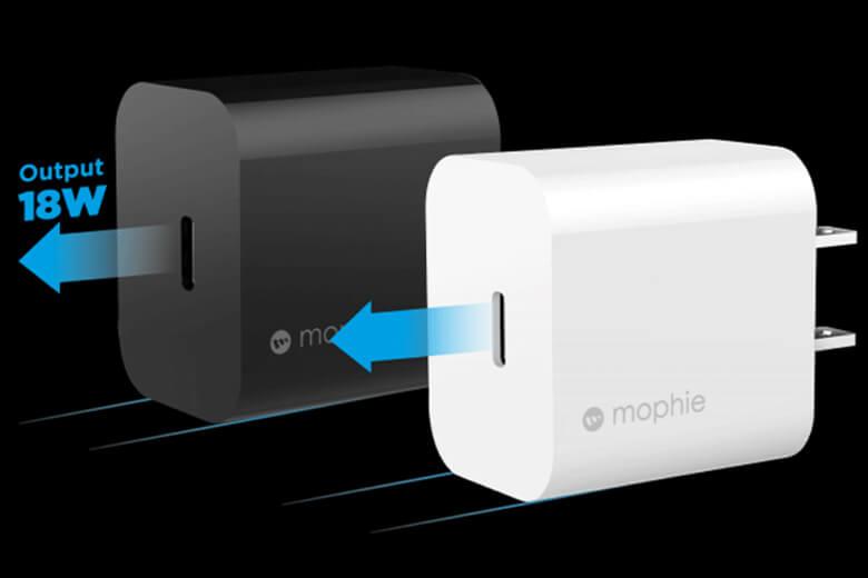 Hỗ trợ sạc nhanh Power Delivery cho công suất lên tới 18W, đầu ra chuẩn USB-A, USB-C và cổng sạc Type-C có độ tương thích cao