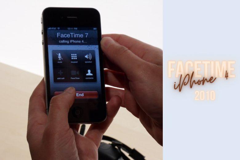 FaceTime trên iPhone 4