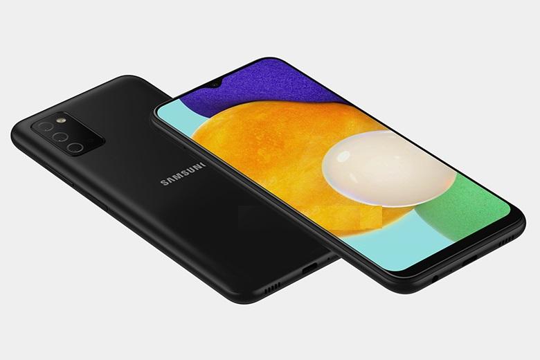 Hình ảnh render Samsung Galaxy A03s
