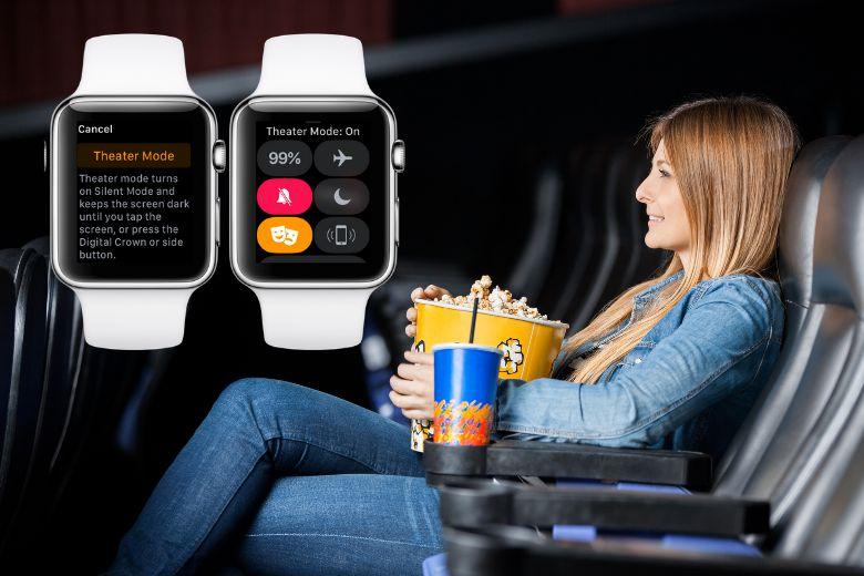 Chế độ rạp hát trên Apple Watch là gì?