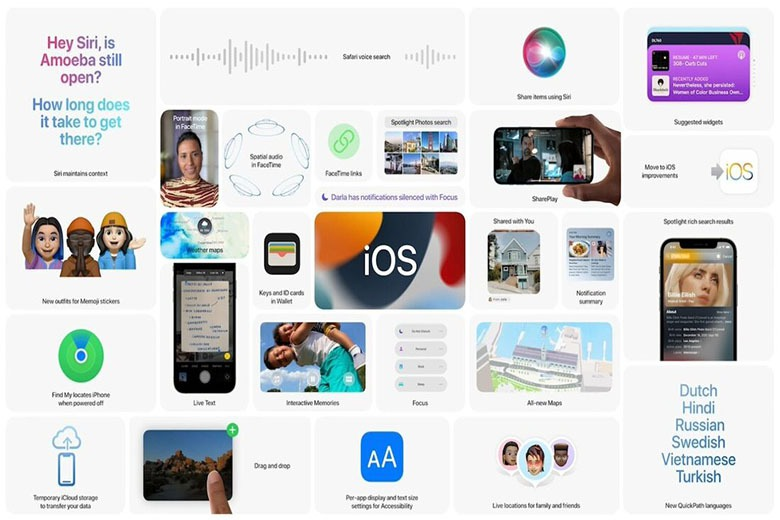 iOS 15 phiên bản beta
